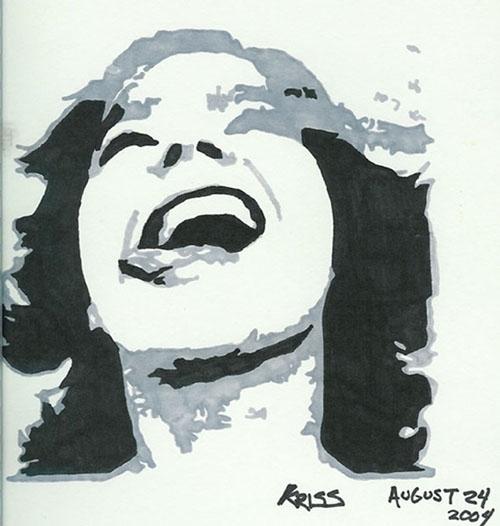 Björk par kriss